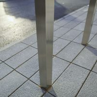 A6-Logistics-Versa-Street-Furniture-Casestudy-Stainless-Steel-Square-Bollard-Building-Entrance-2