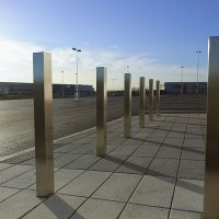 A6-Logistics-Versa-Street-Furniture-Casestudy-Stainless-Steel-Square-Bollard-Building-Entrance-5