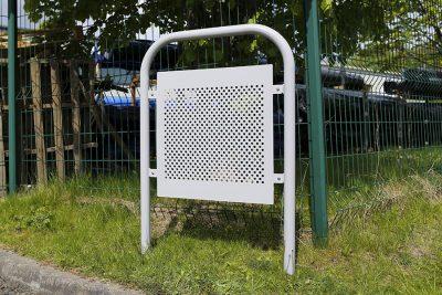 versa door stop to protect door from slamming into walls
