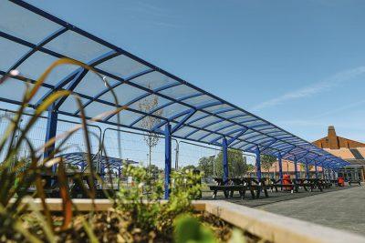 modular designed school and college