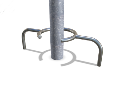 crabtree render of a column protector for car parks