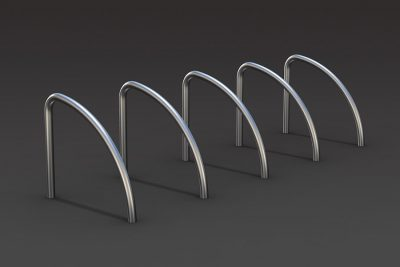 shark fin cycle parking stand